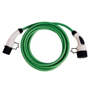 EV Charging Cable | 3-Phase | 11 kW | Green