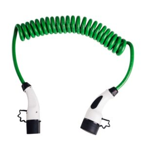 EV Charging Cable | 7.4 kW | Coiled | Green